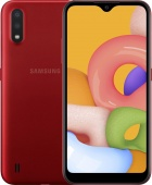 Samsung Galaxy A015 red